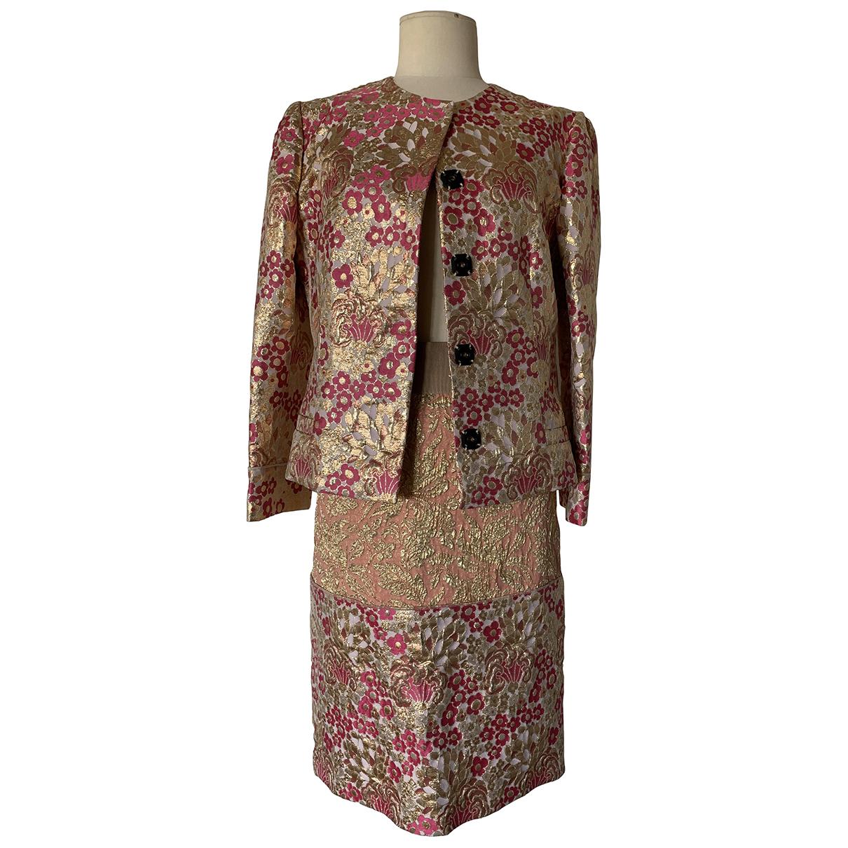 Dolce & Gabbana \N Metallic jacket for Women 44 IT