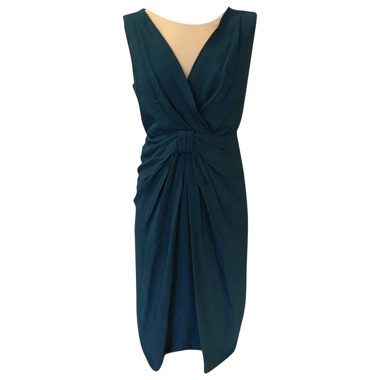 Moschino Love \N Kleid in  Blau Viskose