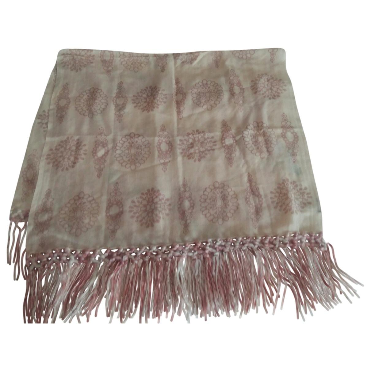 Maliparmi \N Schal in  Rosa Wolle