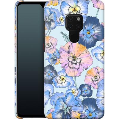 Huawei Mate 20 Smartphone Huelle - Pretty Pansy von Stephanie Breeze