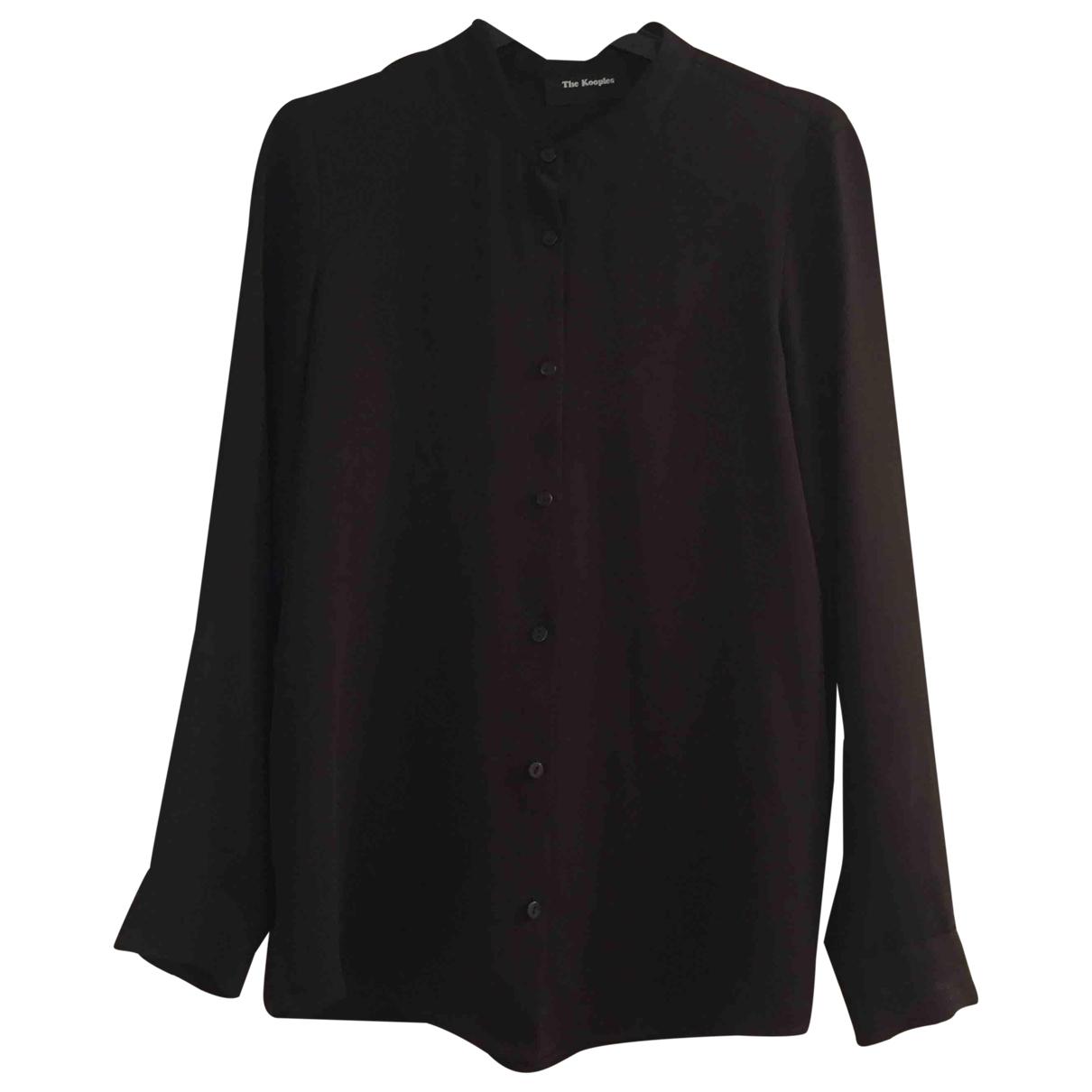 The Kooples \N Black  top for Women 34 FR