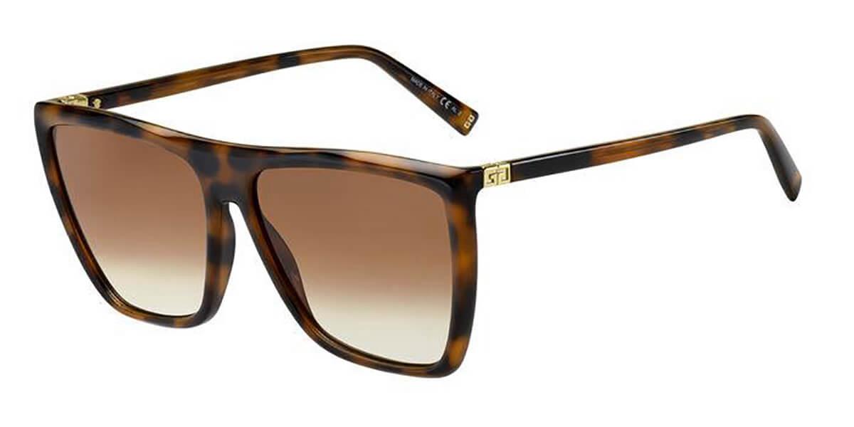 Givenchy GV 7181/S 086/HA Women's Sunglasses Tortoise Size 60