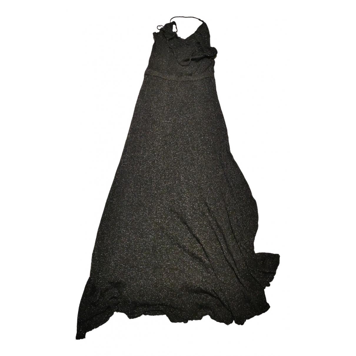 Zara \N Kleid in  Metallic Mit Pailletten
