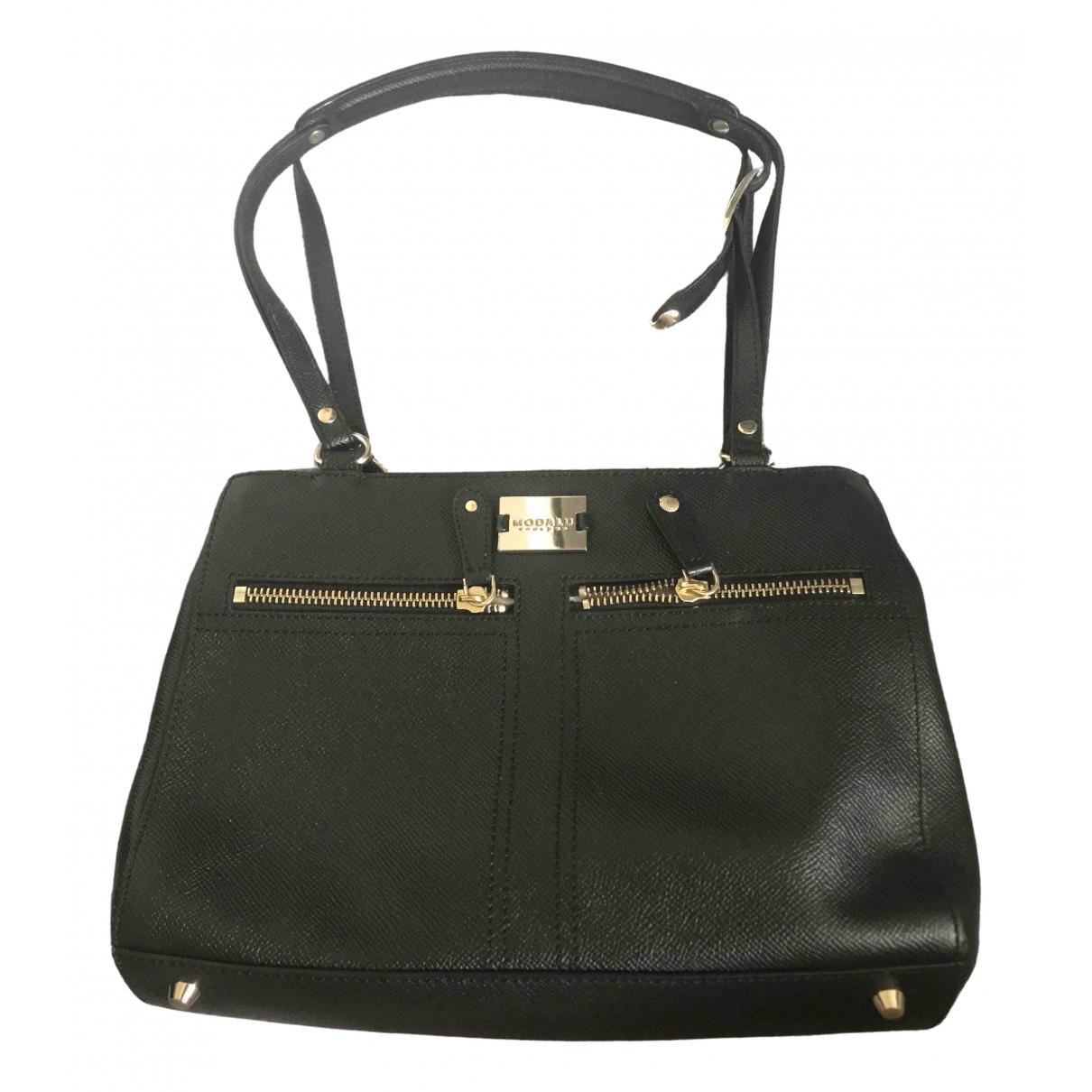 Modalu \N Black Leather handbag for Women \N