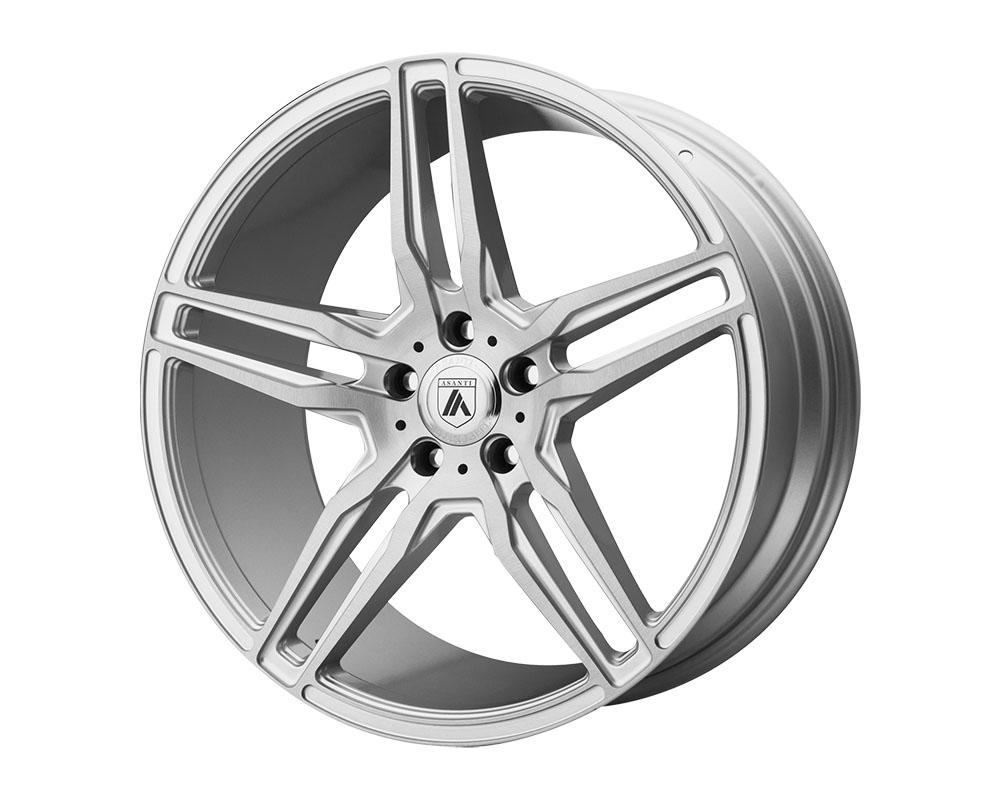 Asanti ABL12-20900035SL Black ABL-12 Orion Wheel 20x9 Blank +0mm Brushed Silver Carbon Fiber Insert