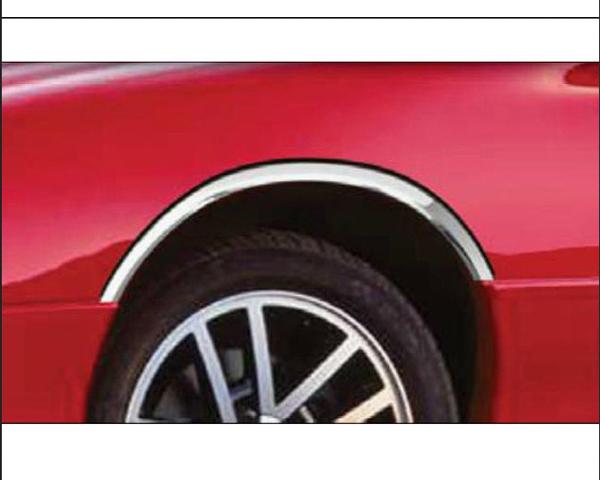 Quality Automotive Accessories 4-Piece Stainless Steel Wheel Well Fender Chevrolet Camaro 1993