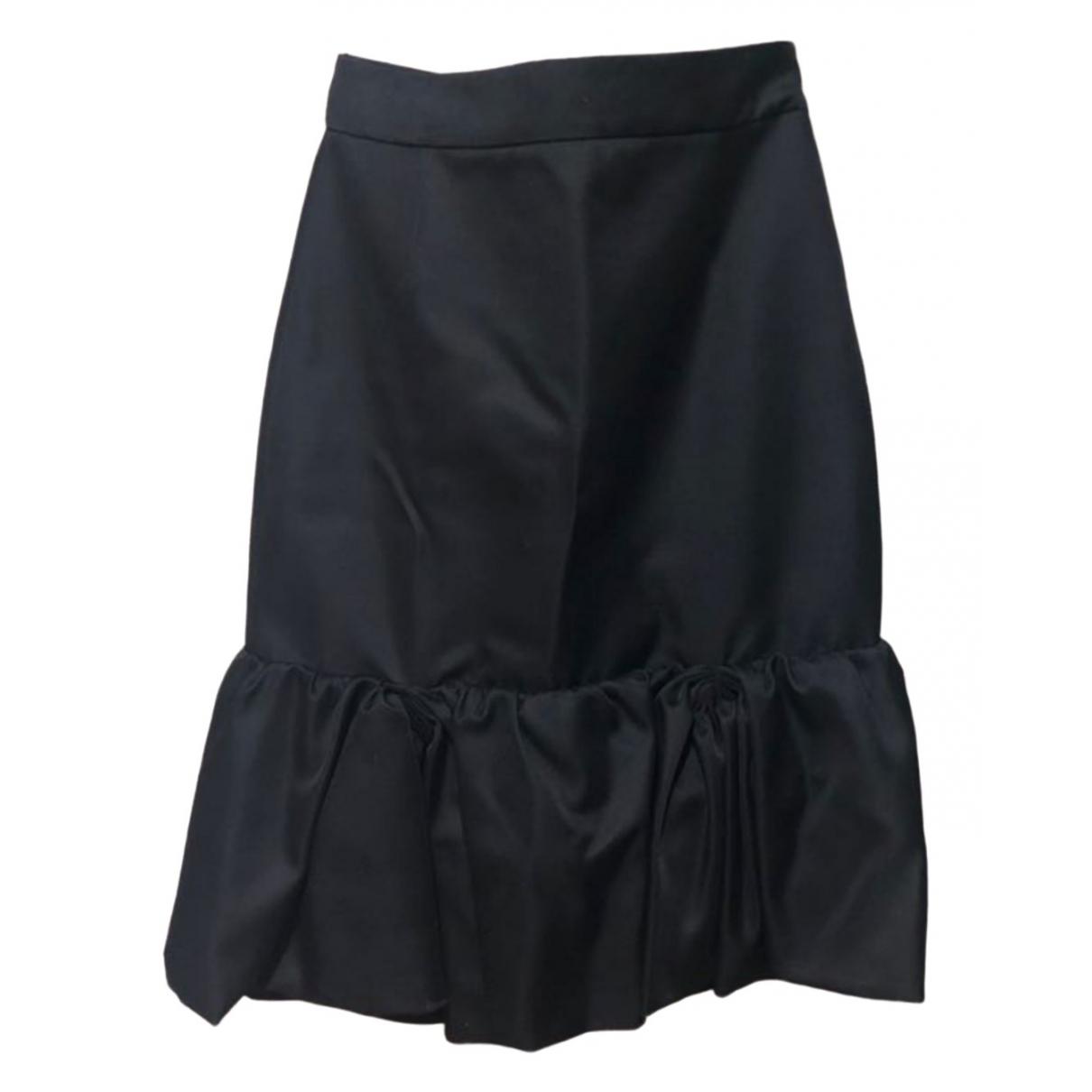 Prada \N Black Wool skirt for Women 42 IT