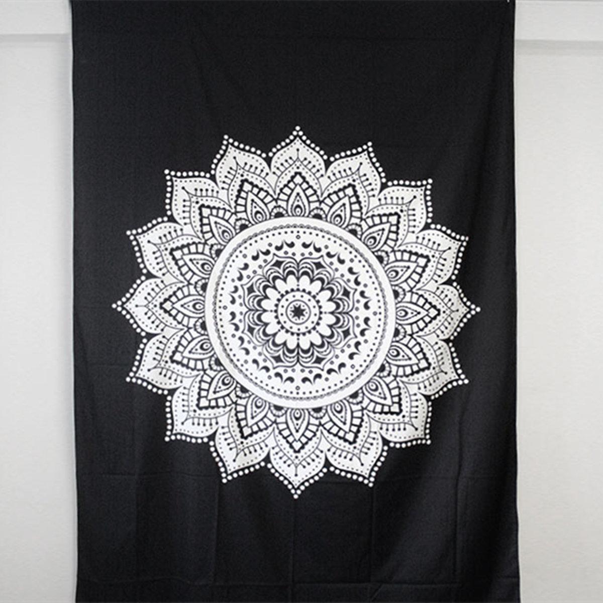 210X148cm Bohemian Bedspread Indian Ethnic Mandala Wall Hanging Hippie Tapestry Dorm Decor