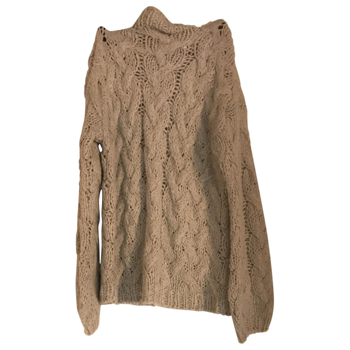 Non Signé / Unsigned \N Grey Wool Knitwear for Women L International