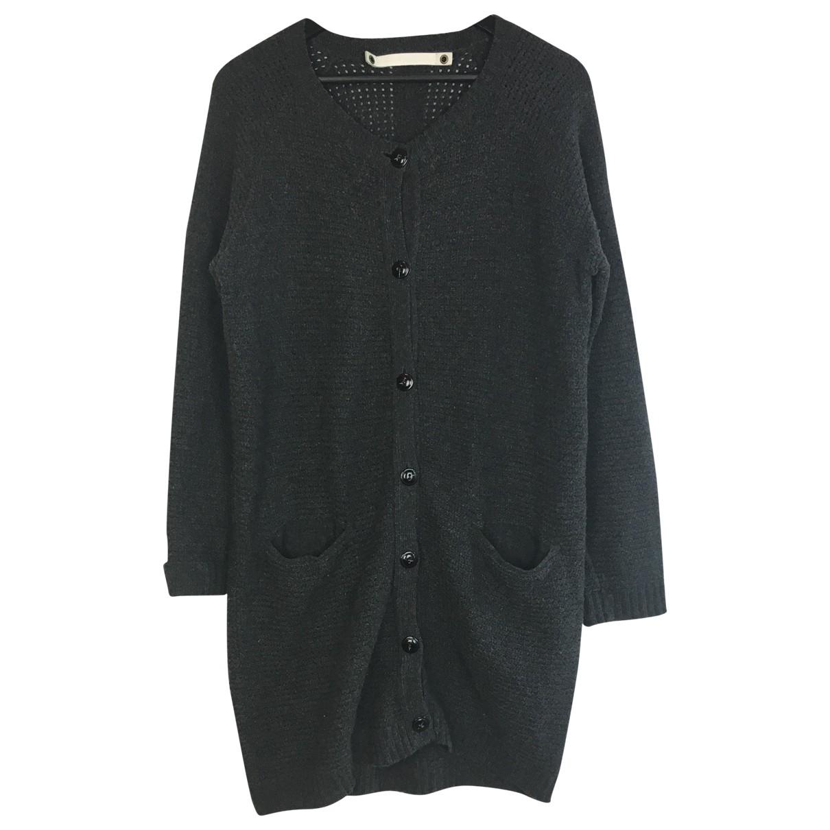 Coat People - Pull   pour femme en laine - anthracite