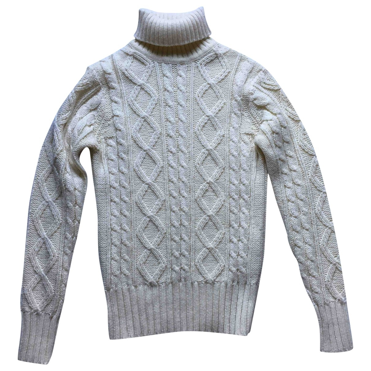 Non Signé / Unsigned \N White Knitwear for Women One Size International