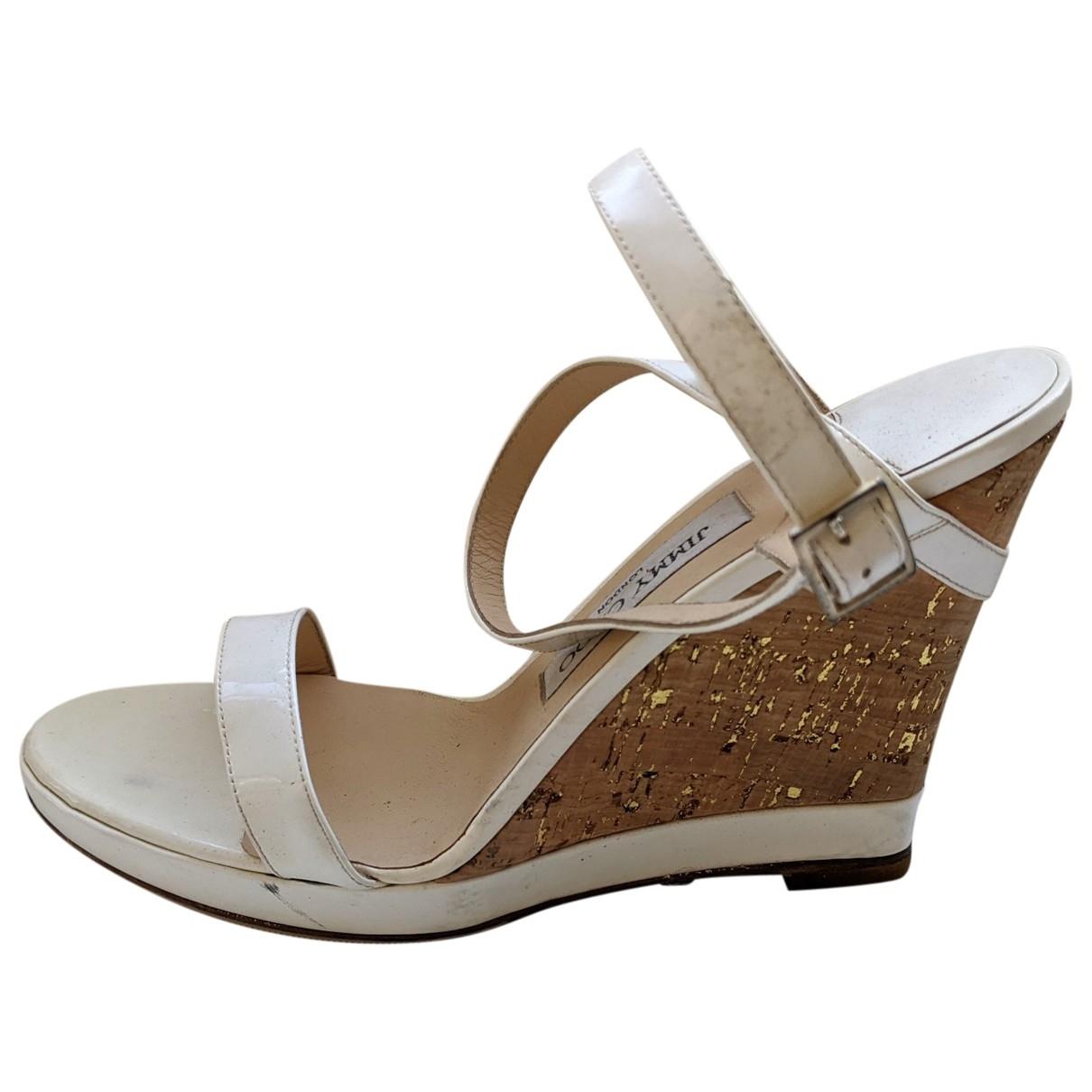 Sandalias de Charol Jimmy Choo