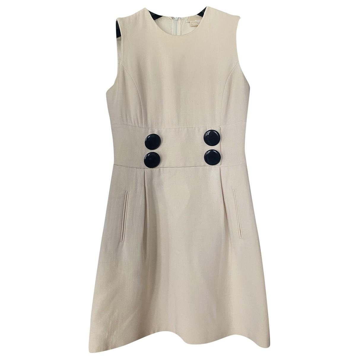 Michael Kors - Robe   pour femme en coton - ecru