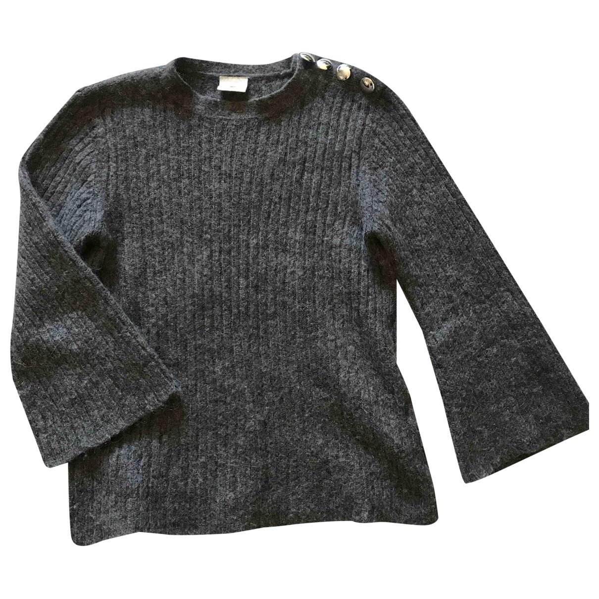 Julie Fagerholt Heartmade - Pull   pour femme en laine - anthracite