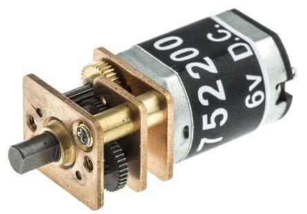 RS PRO , 6 V dc, 7 Ncm, Brushed DC Motor, Output Speed 145 rpm