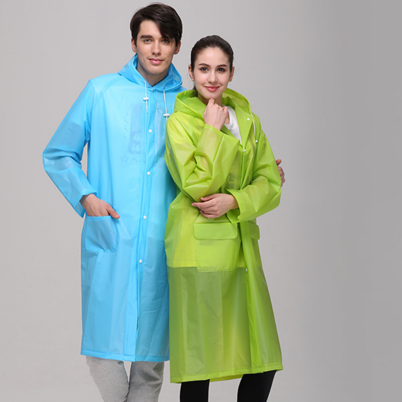 EVA Outdoor Adult Raincoat Dust-proof & Water-proof Hiking Raincoat