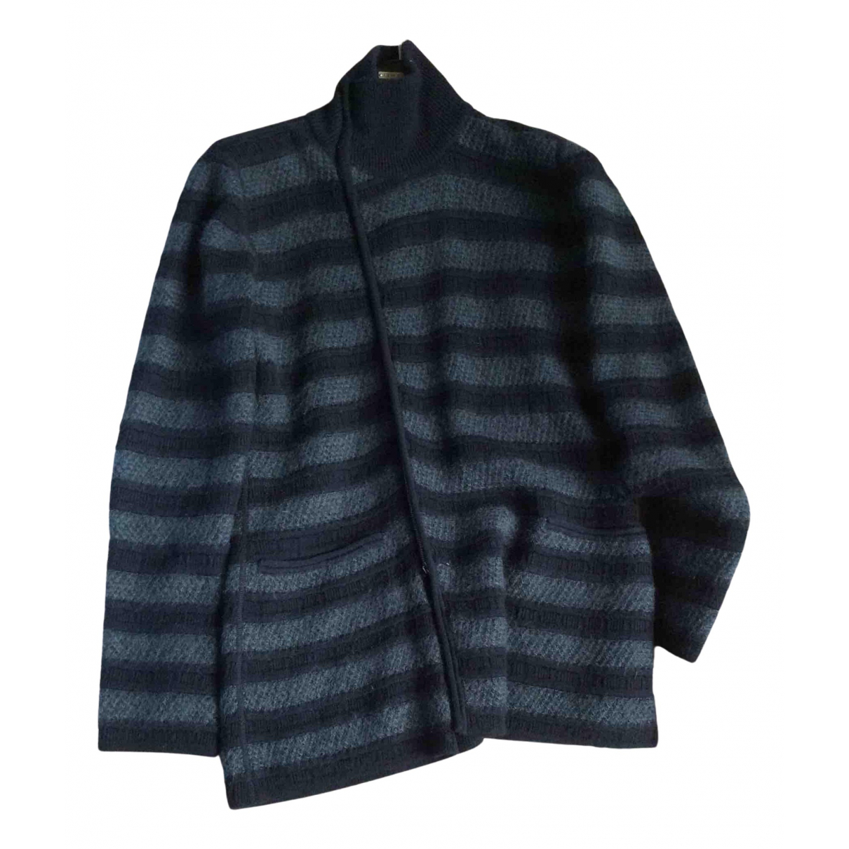 Giorgio Armani N Blue Wool jacket  for Men 46 IT