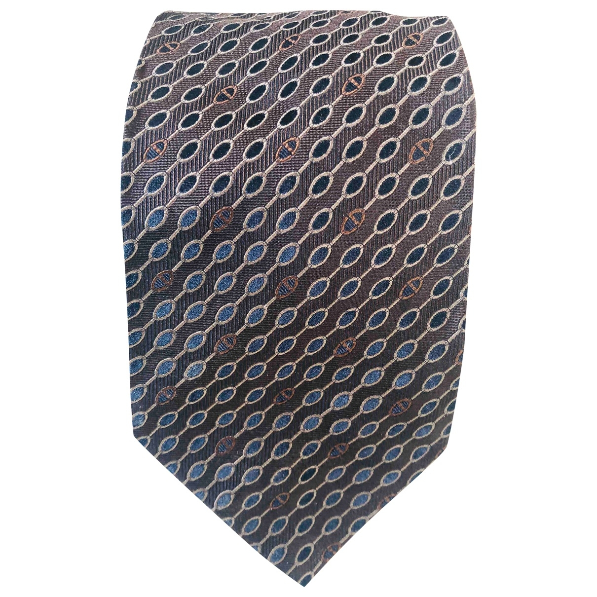 Dior Homme \N Krawatten in  Braun Seide