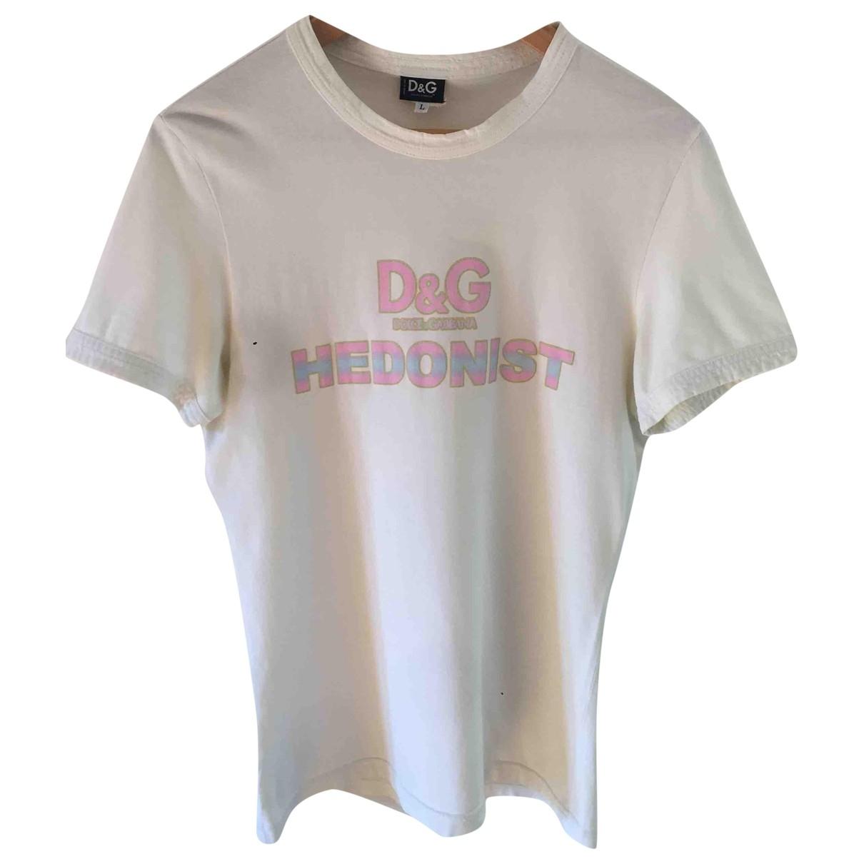 D&g \N Top in  Weiss Baumwolle