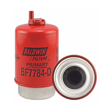Baldwin BF7784-D - Primary Fuel/Water Separator Element With Drain ...