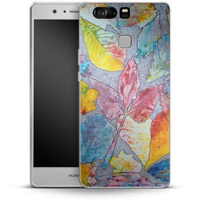 Huawei P9 Silikon Handyhuelle - Spring Drawing Meditation von Kaitlyn Parker