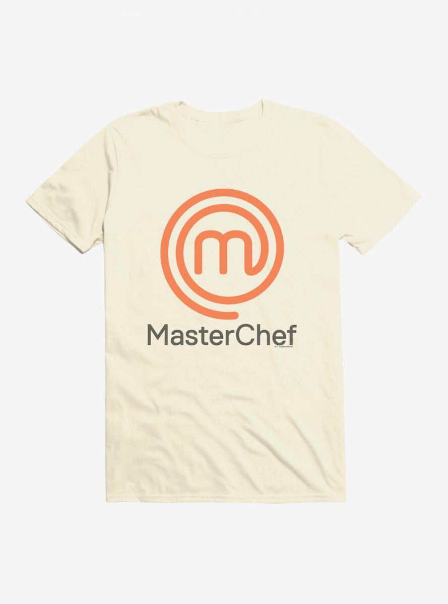 Master Chef Name And Logo T-Shirt