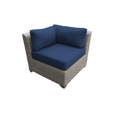 TKC055b-CS-NAVY Florence Corner Sofa with 2 Covers: Grey and