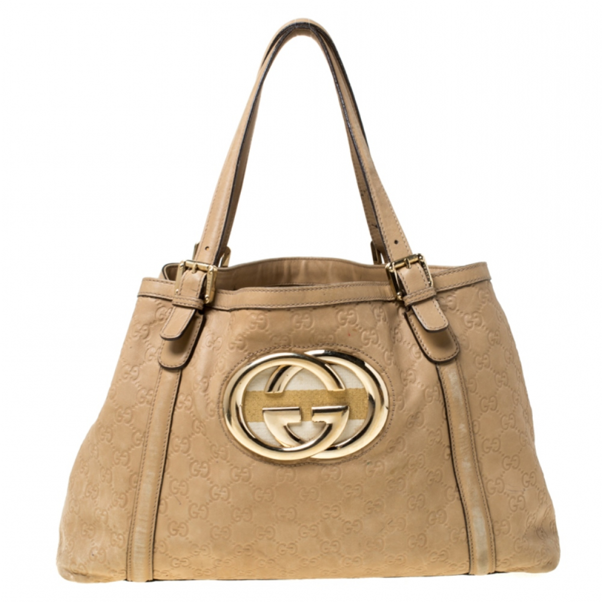 Gucci \N Beige Leather handbag for Women \N