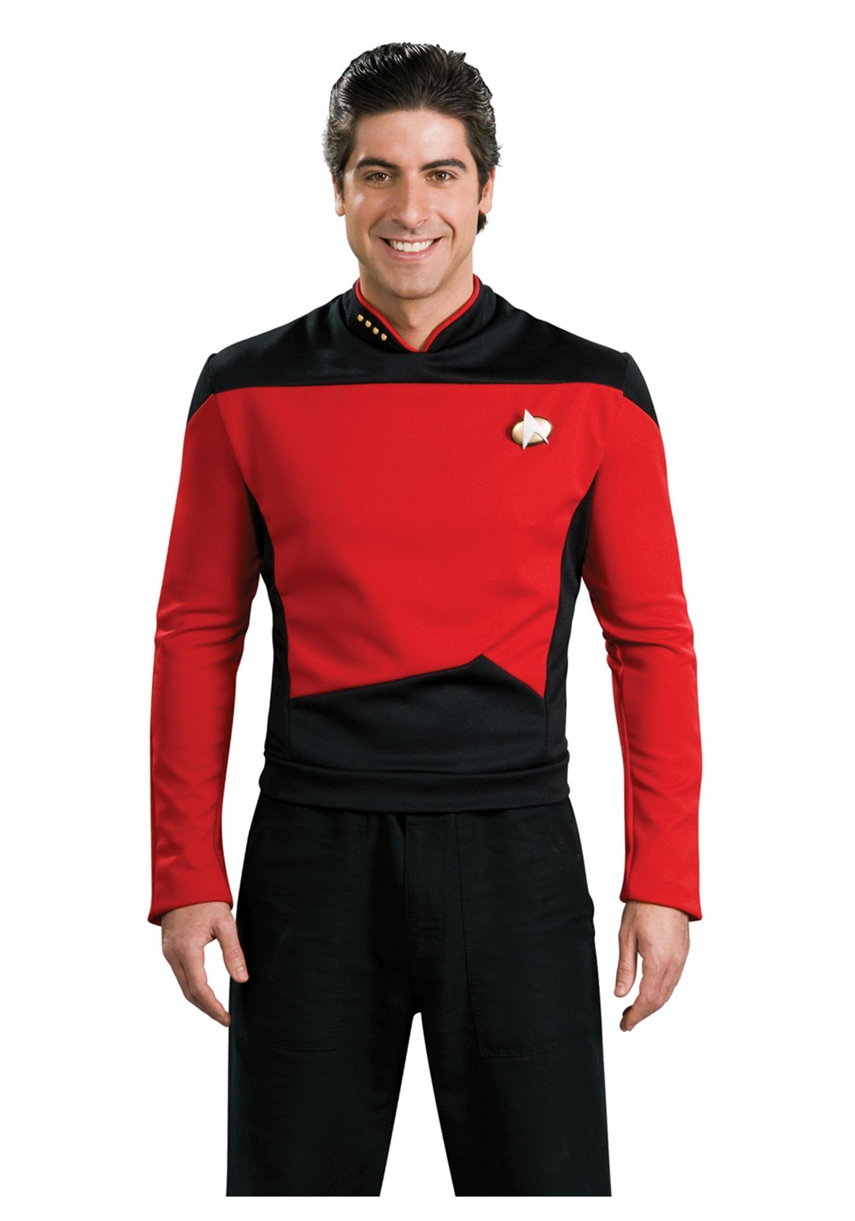 Star Trek: TNG Adult Deluxe Command Uniform Costume