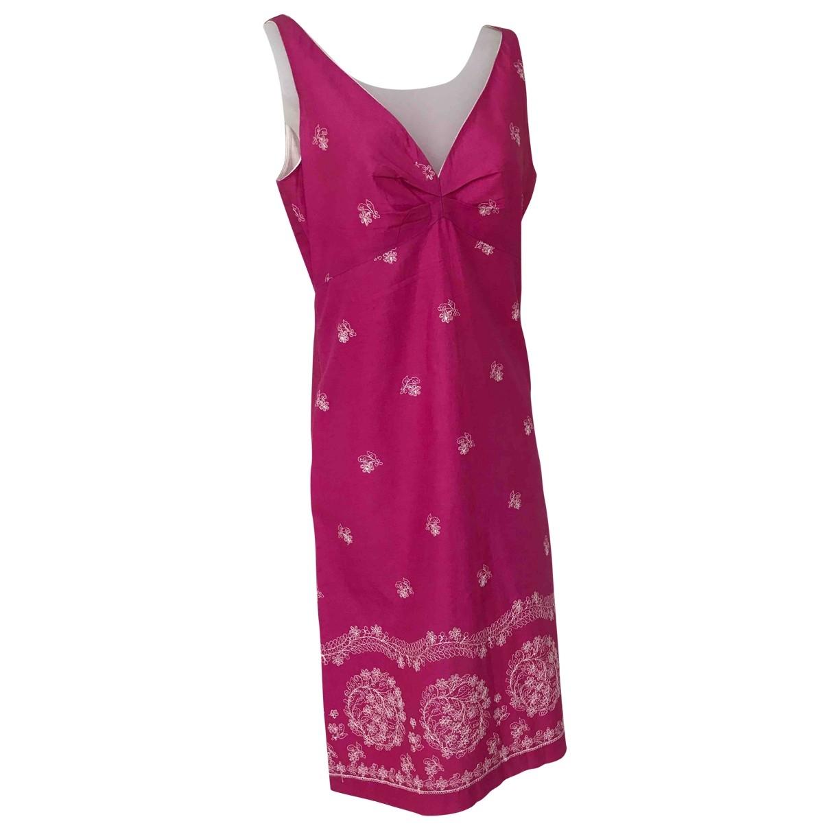 Tocca \N Kleid in  Rosa Baumwolle