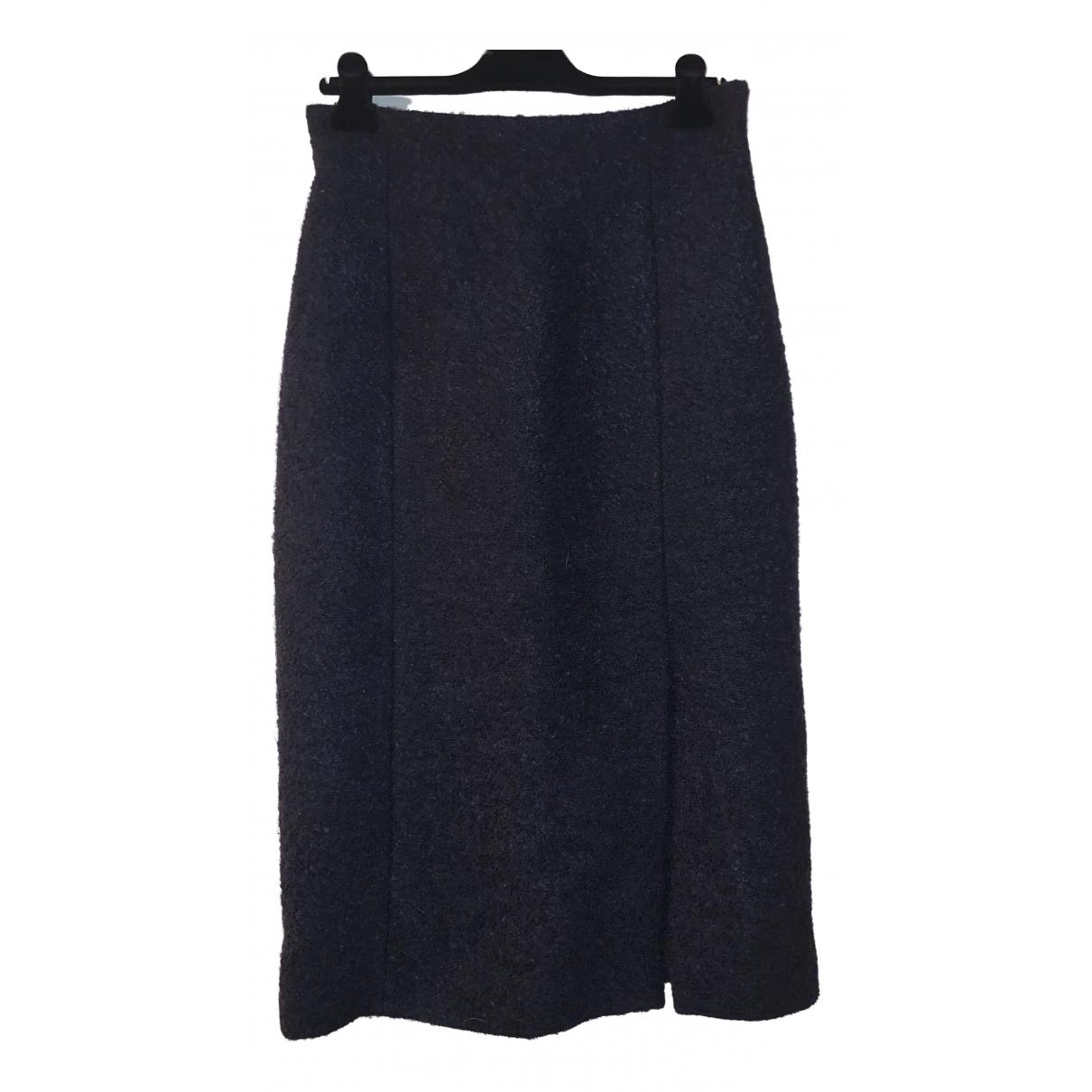 Dior - Jupe   pour femme en laine - bleu