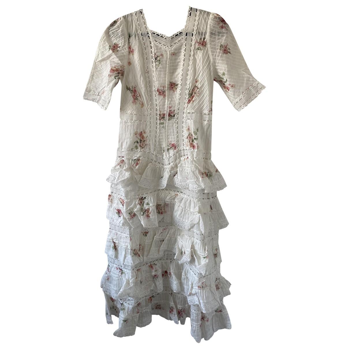 Maxi vestido de Lino Zimmermann