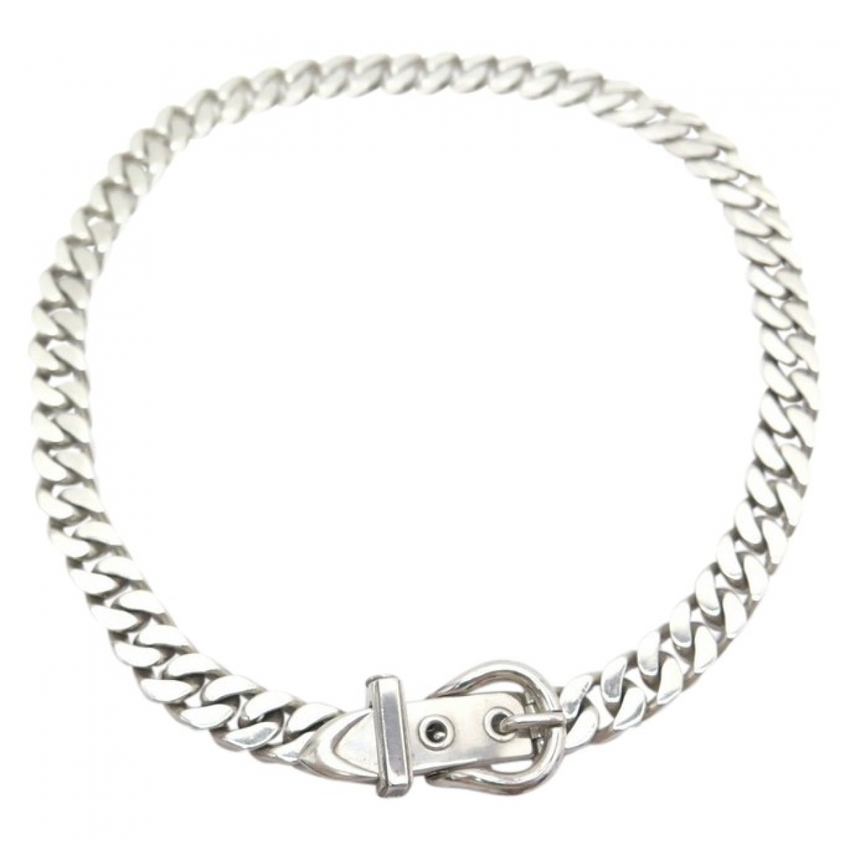 Hermès Ceinture Silver Silver necklace for Women N