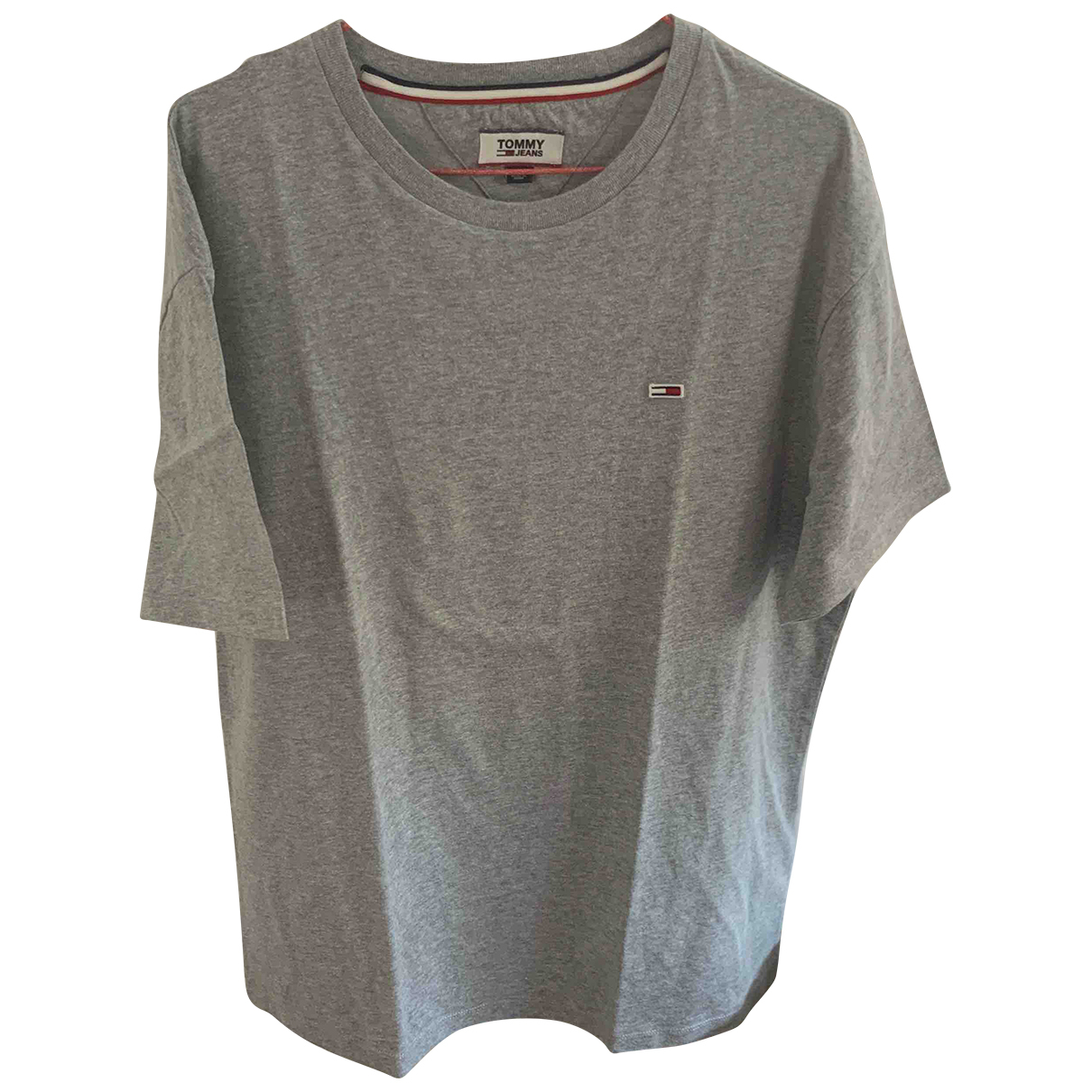 Tommy Jeans \N Grey Cotton T-shirts for Men L International