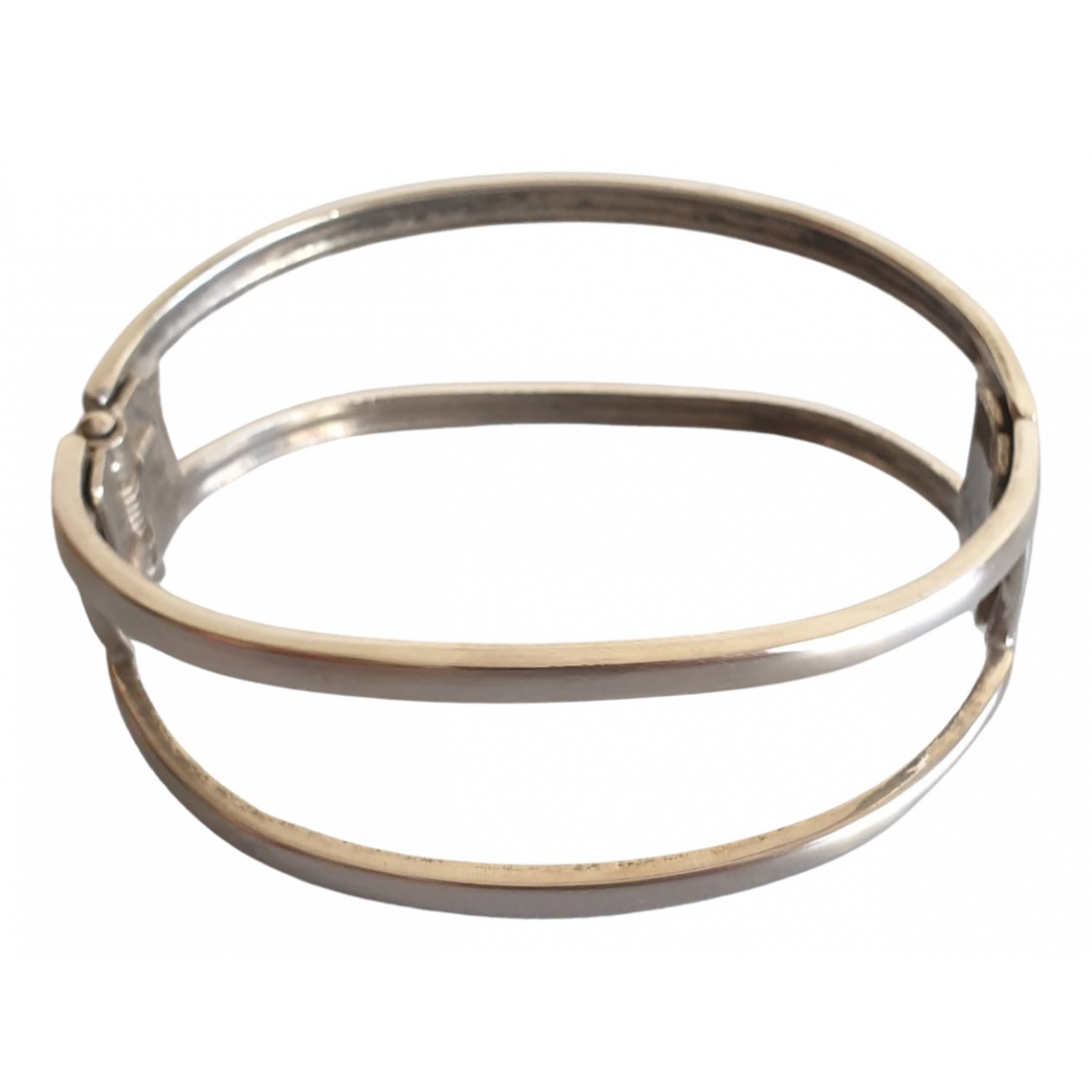 Non Signe / Unsigned \N Armband in  Metallic Metall