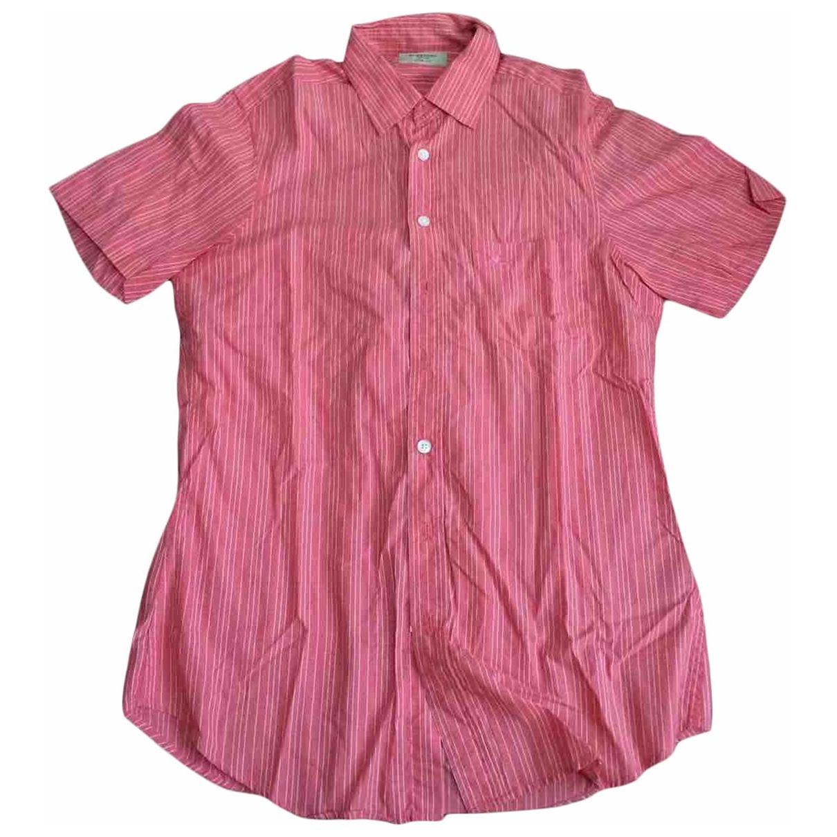 Burberry - Chemises   pour homme en coton - rouge