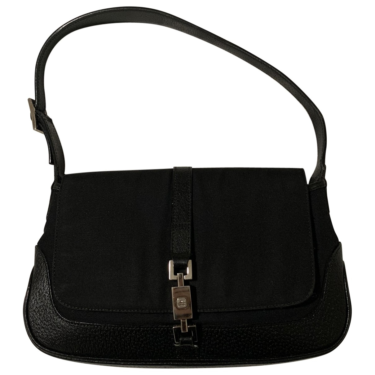 Gucci Jackie Vintage  Black Cloth handbag for Women \N