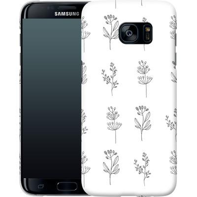 Samsung Galaxy S7 Edge Smartphone Huelle - Botanic Studies von Lucy Bohr