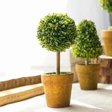 1 Stueck Kuenstliche Topfpflanze