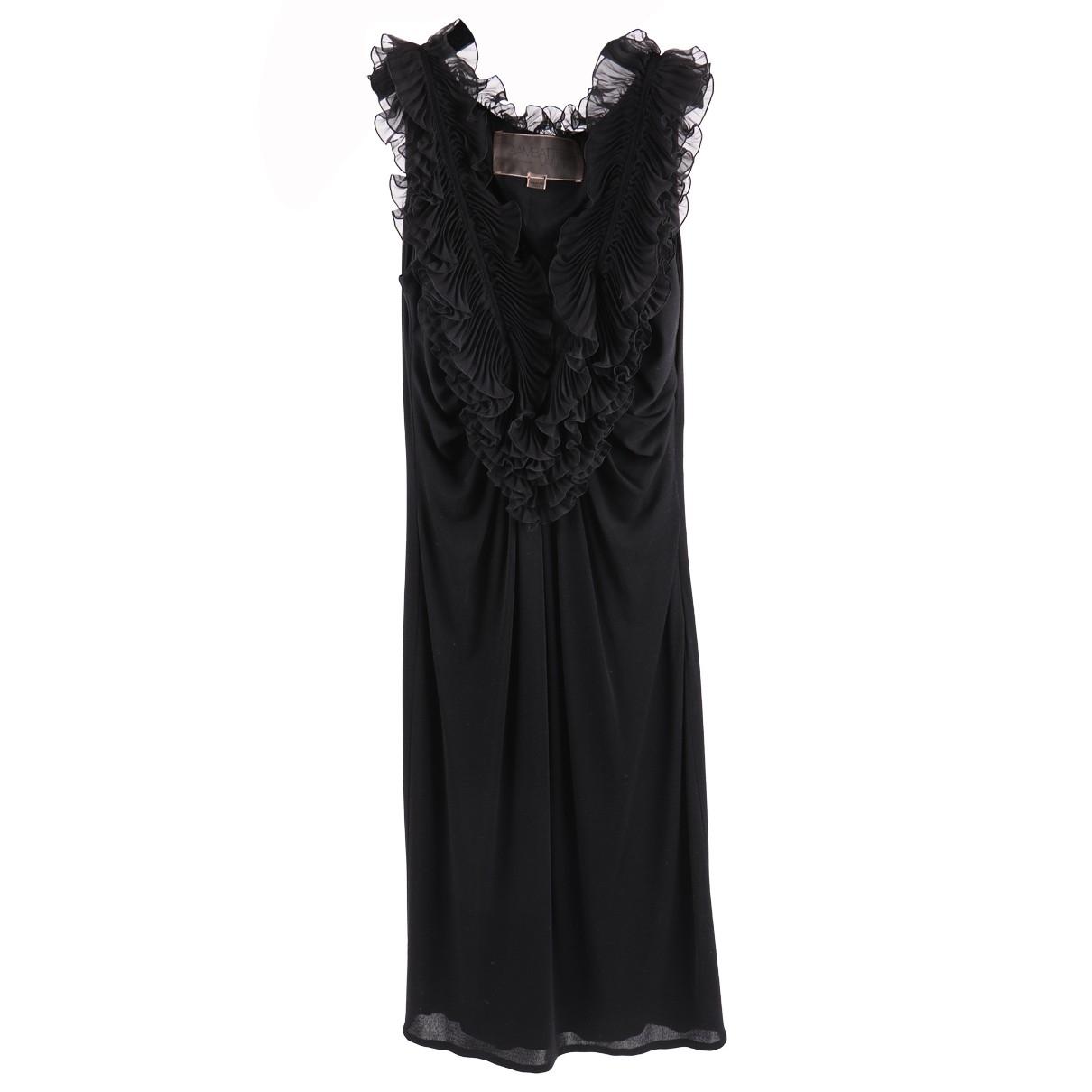 Giambattista Valli \N Black Silk dress for Women 42 IT