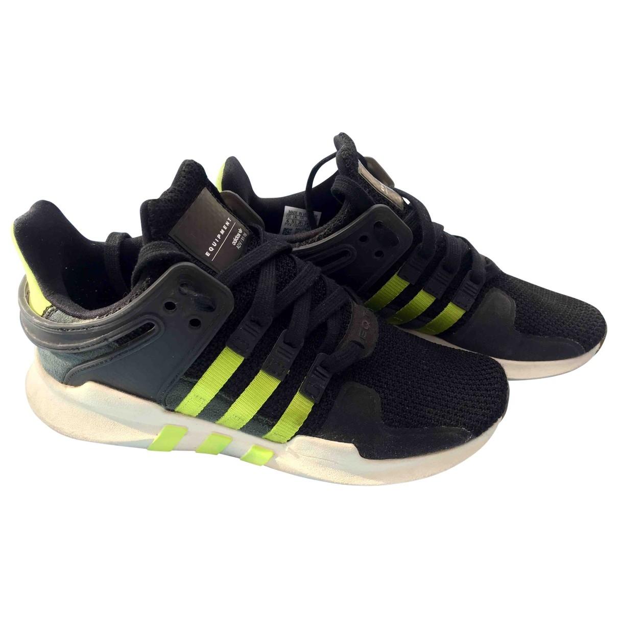 Adidas EQT Support Black Trainers for Women 38.5 EU
