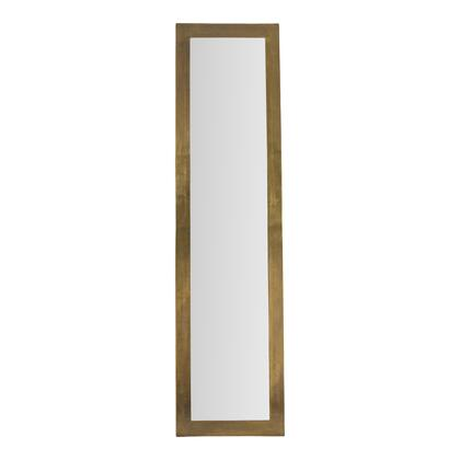 Cate Collection ZY-1009-01 Mirror with Aluminum Frame in Yellow