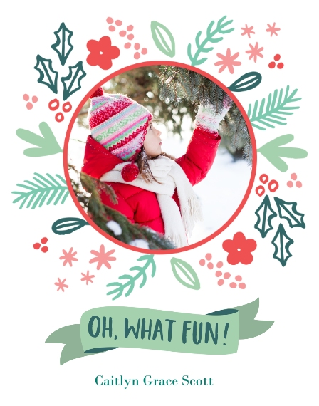Holiday 11x14 Poster(s), Board, Home Décor -Festive Floral Fun