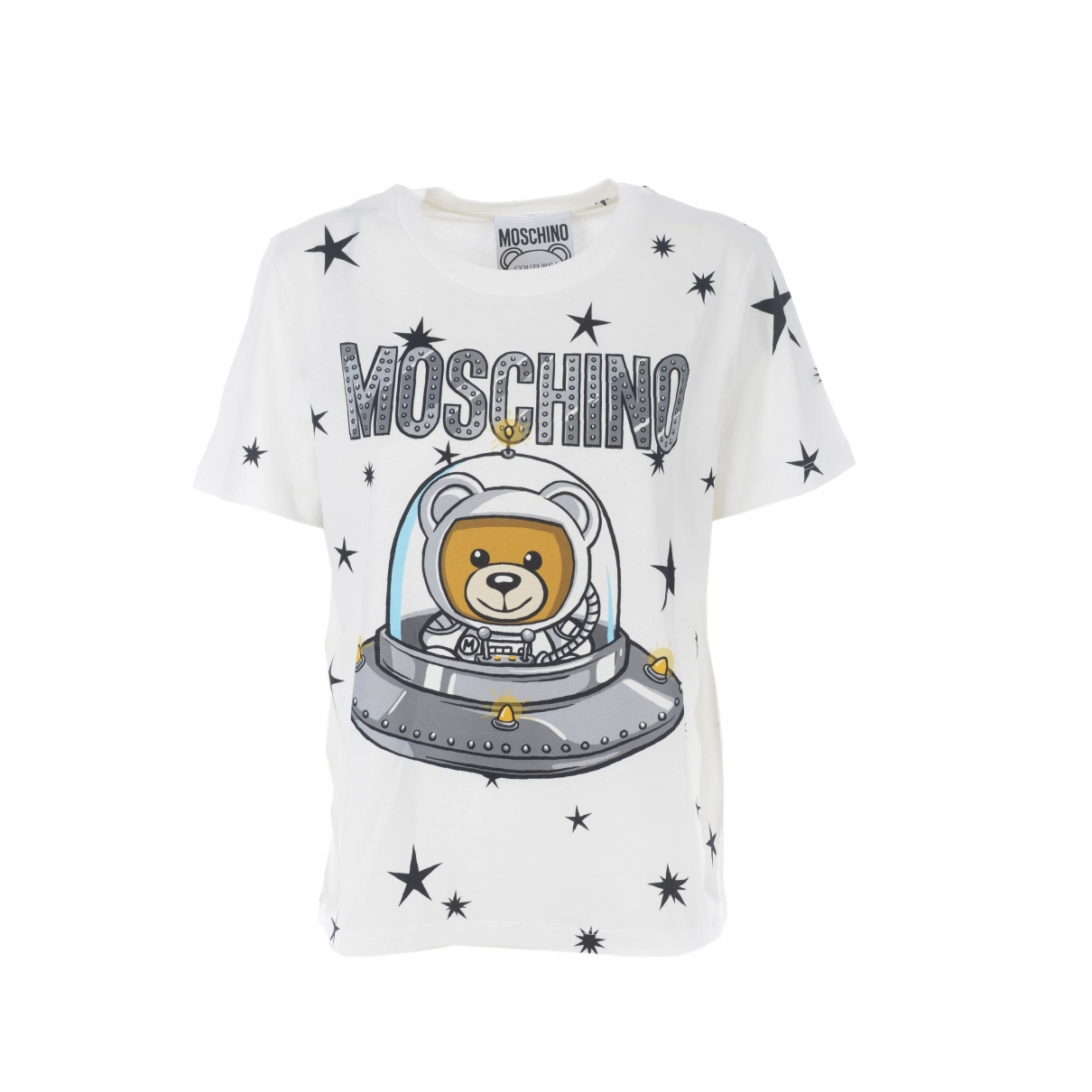Moschino \N Top in  Weiss Baumwolle