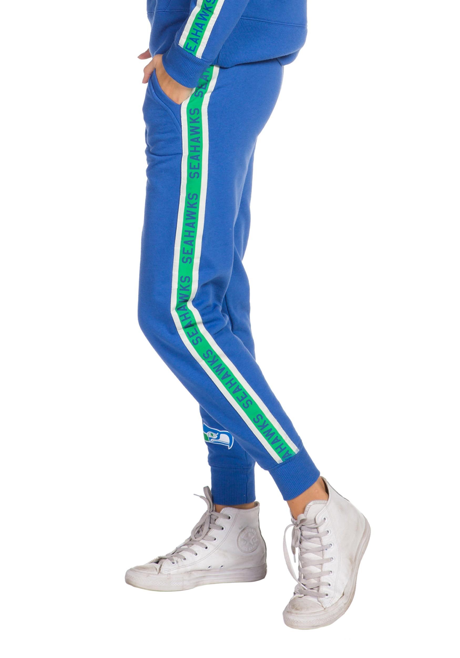 Seattle Seahawks Blue Fleece Joggers for Women