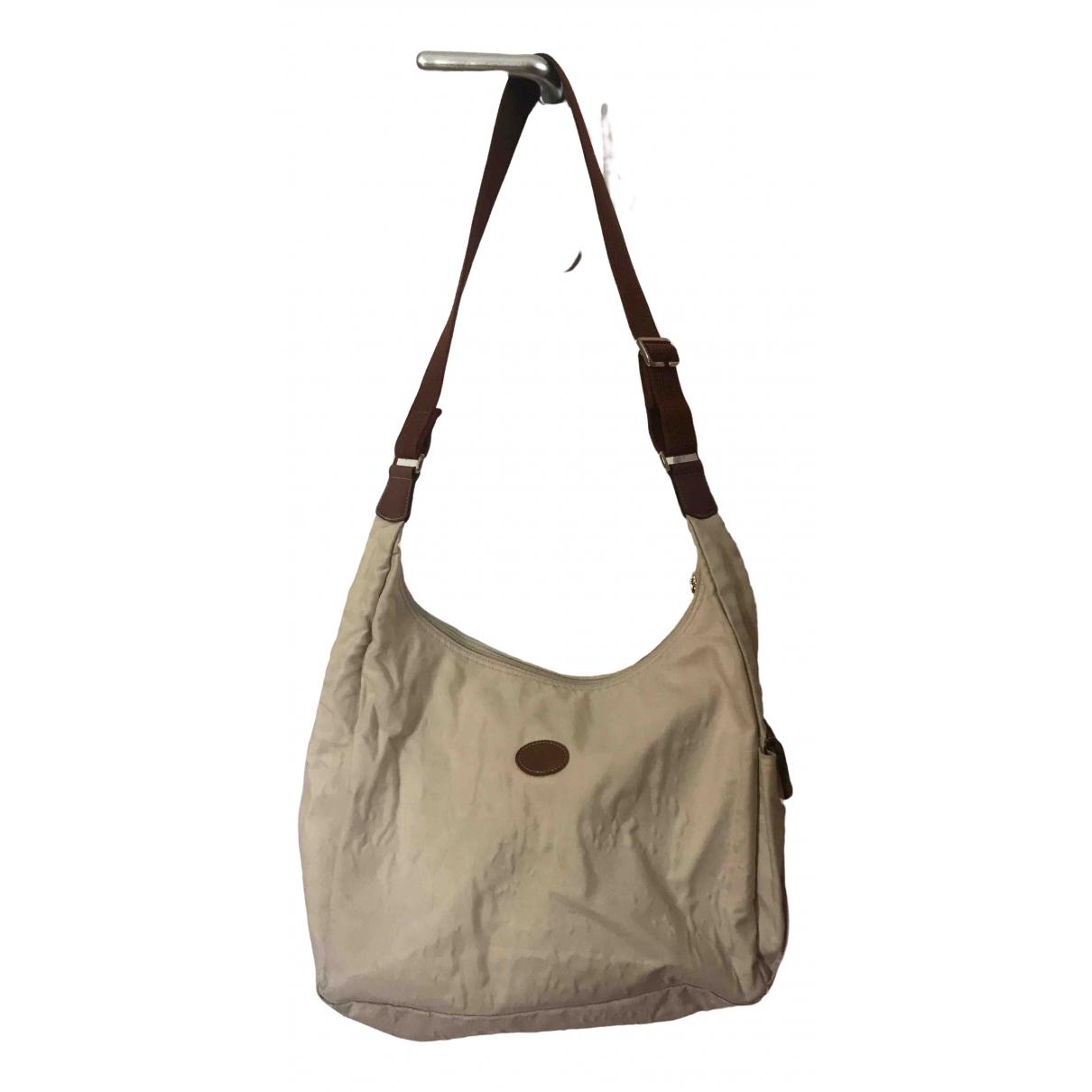 Longchamp \N Handtasche in  Beige Leinen