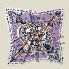 Vintage Paisley Pattern Bandana