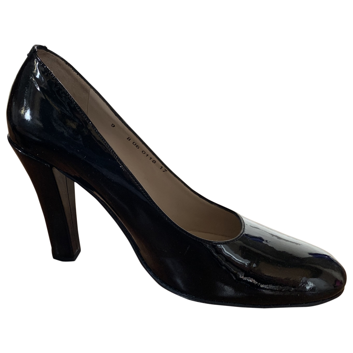 Robert Clergerie \N Pumps in  Schwarz Lackleder