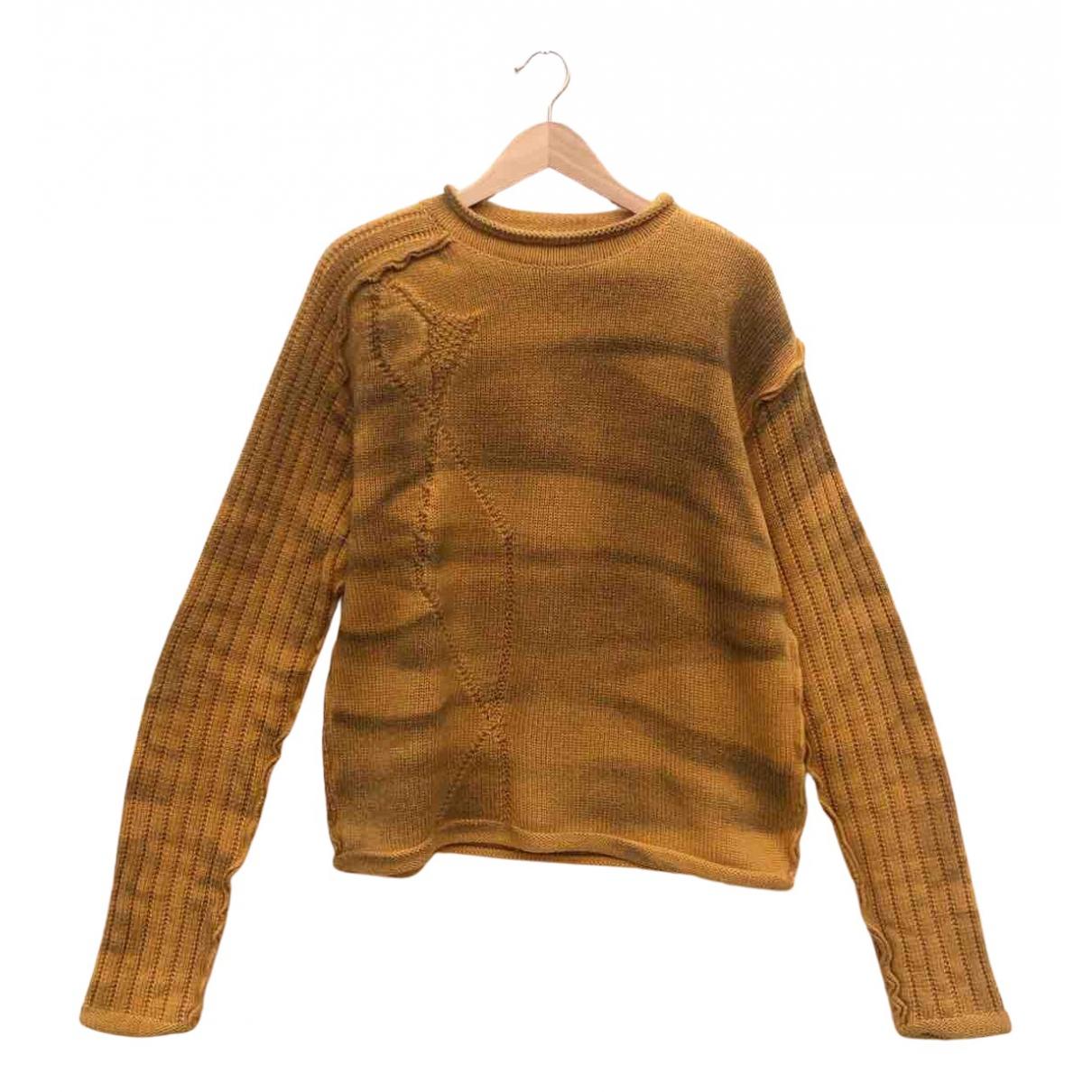 Just Cavalli \N Pullover.Westen.Sweatshirts  in  Gelb Wolle