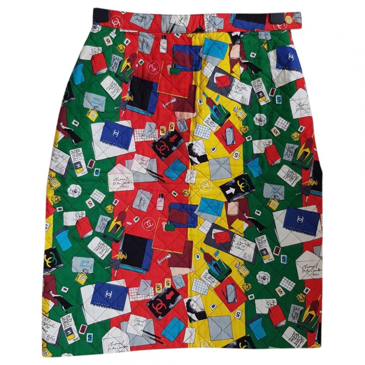 Chanel \N Multicolour Cotton skirt for Women 40 FR